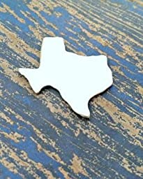 Bro Blanks Aluminum Texas Stamping Blanks - PUNCHED Aluminum - Qty 5 - 18 Gauge - Unpolished