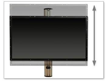 support mural avec ressort gaz hauteur r glable led tv tv lcd vesa 200 400. Black Bedroom Furniture Sets. Home Design Ideas