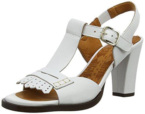 Chie Mihara - Zinan Masai Blanco, Sandali da donna, bianco (blanc (white)), 38
