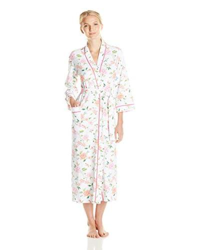 Carole Hochman Women's Chinoiserie Long Robe