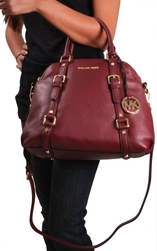 Michael Kors Bedford Women's Bowling Satchel Handbag Purse