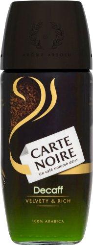 2 Jars Carte Noire Decaf Instant Coffee Uk Version 3.5Oz/100G