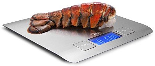 Ozeri Deutschland ZK15 Zenith Balance de cuisine numérique en acier inoxydable