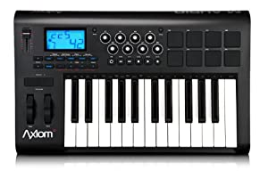 M-Audio Axiom 25 25-Key USB MIDI Keyboard Controller with Assignable Control Surface, 2nd Gen