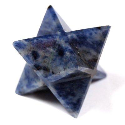 Sodalite Merkaba Star (3/4