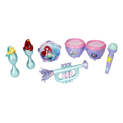 Disney Princess Ariel's Musical Instruments Set