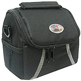 Zeikos ZE-CA38B Deluxe Camera Bag for select Olympus, Panasonic, Nikon, Canon Cameras