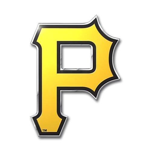 Pittsburgh Pirates Color Auto Emblem - Die Cut