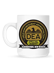 DEA Special Agent Tasse inspirée par Breaking Bad