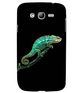 PRINTVISA Animal Chameleon Case Cover for Samsung Galaxy Grand 2