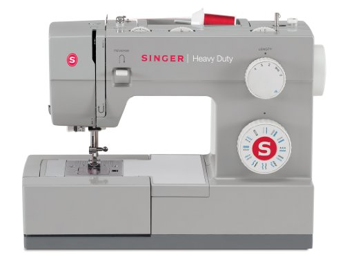Read About SINGER 4423 Heavy Duty Model Sewing Machine With Metal Interior Frame and Stainless Steel...