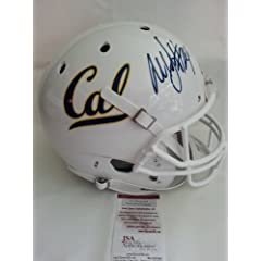 Marshawn Lynch Autographed California Full-sized Helmet. JSA