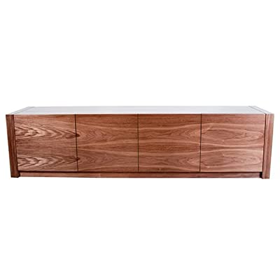 """BLOK """"MODUS"""" Contemporary Natural Walnut Low-level Sideboard"""