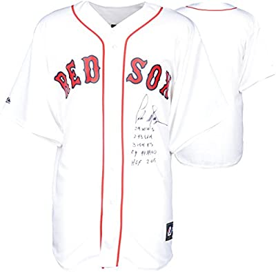 Pedro Martinez Boston Red Sox Autographed Majestic Replica Jersey with Multiple Inscriptions - Limited Edition #2-44 of 45 - Fanatics Authentic Certified