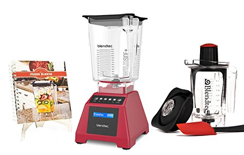 Blendtec Total Blender Classic 560 with WildSide & Twister Jars...