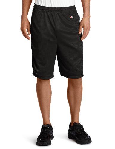 Champion Men's Lacrosse Short,Black,X-Large