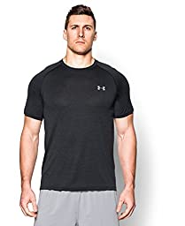 Men\'s Under Armour Tech Short Sleeve T-Shirt, Black (014), X-Large