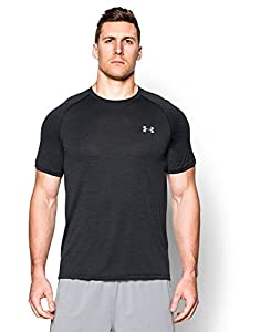 Under Armour Men's Tech Short Sleeve T-Shirt, Black (014), Medium