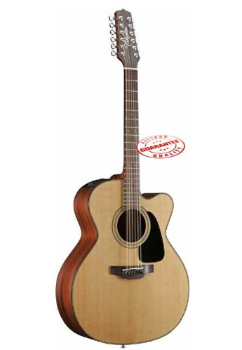 Takamine Pro Series 1 Jumbo Cutaway 12-String Acoustic Electric Guitar Natural P1Jc-12
