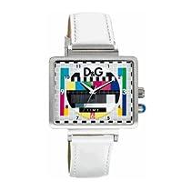 D&G Medicine Man Unisex Colourfultelevision Test Card Design Wristwatch Dw0513
