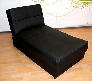 ottomane liegesofa recamiere mit bettkasten m9402. Black Bedroom Furniture Sets. Home Design Ideas