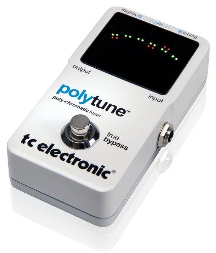 TC ELECTRONIC POLYTUNE CHROMATIC POLYPHONIC TUNER