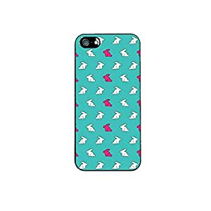 Vibhar printed case back cover for Apple iPhone 4 Bunny