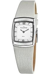 Skagen Women's 855SSLW1 Steel Mother-Of-Pearl Arabic Numeral Dial Watch