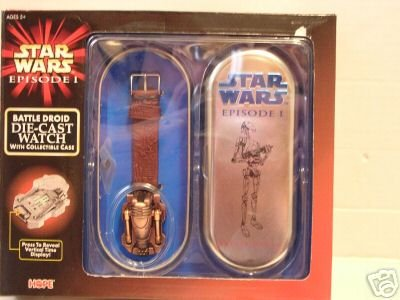 Star Wars Battle Droid Die Cast Watch