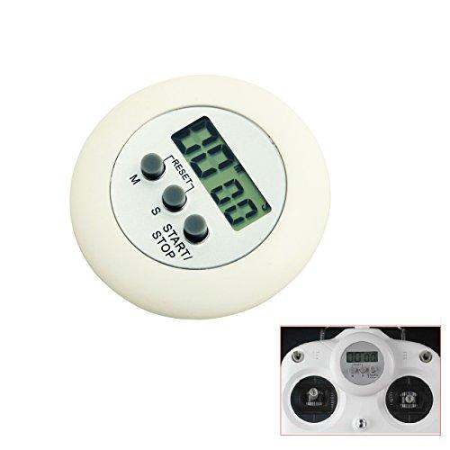 Tera® Elektronischer Timer mit Stoppuhr und Zeituhr für DJI PHANTON ( Messbereich: 59 Minuten und 59 Sekunden )
