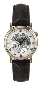 Rotary Herren-Armbanduhr XL Analog Handaufzug Leder GS02843/02