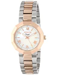 Sports & Outdoors - Invicta Women's 0545 Angel Collection 18k Rose Gold Plated and Stainless Steel Watch $74.99