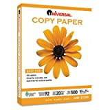 Universal 21200 500-Sheet Bulk Multipurpose Copy Paper (White)