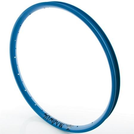 The Shadow Conspiracy Orbis BMX Bike Rims – Matte Highlighter Blue Powder Coat Finish