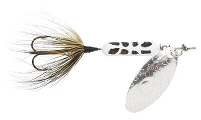Yakima Bait Wordens Original Rooster Tail Spinner Lure White Coachdog by Yakima Bait