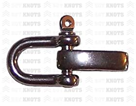 SGT KNOTS® Paracord Bracelet U Shackle with Adjuster