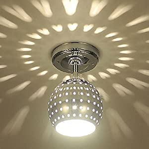 3w modern led ceiling light with scattering globe light design shadow