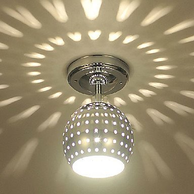 3W Modern Led Ceiling Light With Scattering Globe Light Design Shadow Effect
