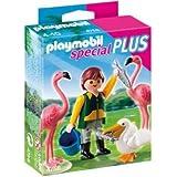 Playmobil 4758 - Especial: cuidador zoo + pájaros