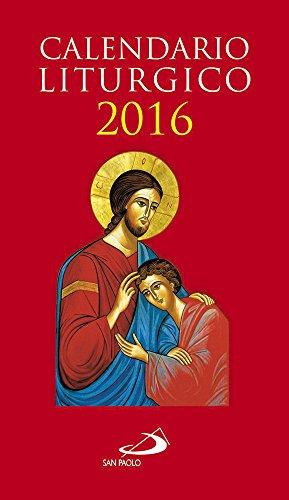 Calendario liturgico 2016 PDF