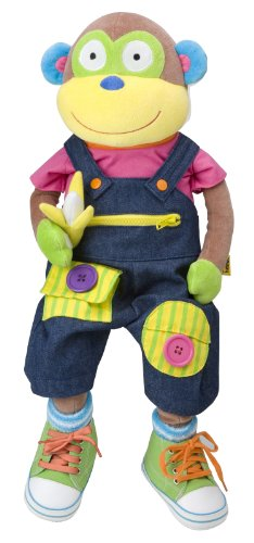 ALEX® Toys - Early Learning Learn To Dress Monkey -Little Hands 1492