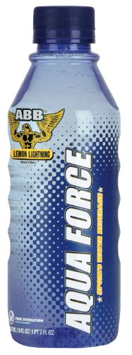 Aqua Force Lemon Lightning 24 bottles (18oz) - Sports Water Beverage