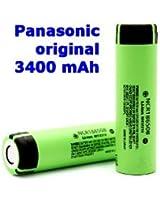 Panasonic NCR18650B Li-Ion batteria 3,6V, 3400mAh