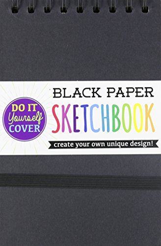 international-arrivals-diy-black-paper-sketch-book-5-by-75-inches-118-102