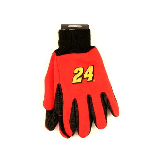 Nascar Officially Licensed Sports Utility Gloves (Jeff Gordon #24)