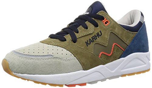 KARHU Aria Cactus/Navy 45 eur uk 10 us 11 Running Shoes Scarpe da corsa