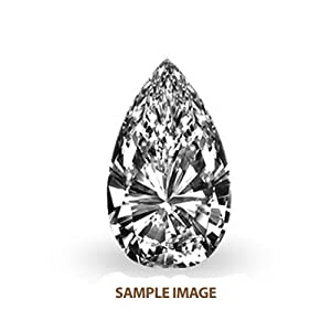 4.37 ct Pear Natural Loose GIA Certified Diamond H, VS2
