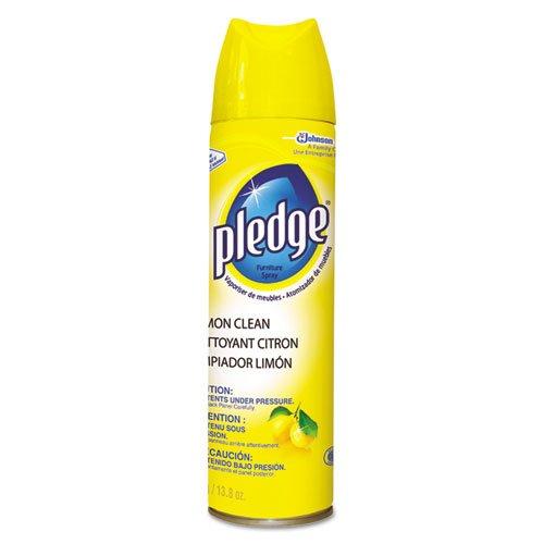pledge-furniture-polish-lemon-138-oz-aerosol-six-cans-per-case