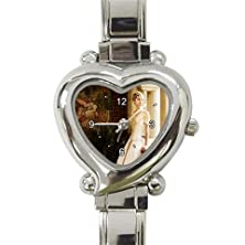 buy Taylor Swift Love Story Custom Design Heart Italian Charm Watch Limited Edition