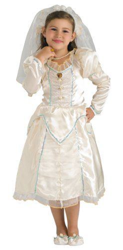 Girls Beautiful Bride Costume